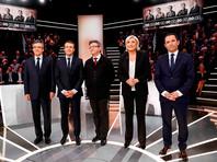 Во Франции прошли первые дебаты кандидатов в президенты: Макрон призвал не сближаться с РФ