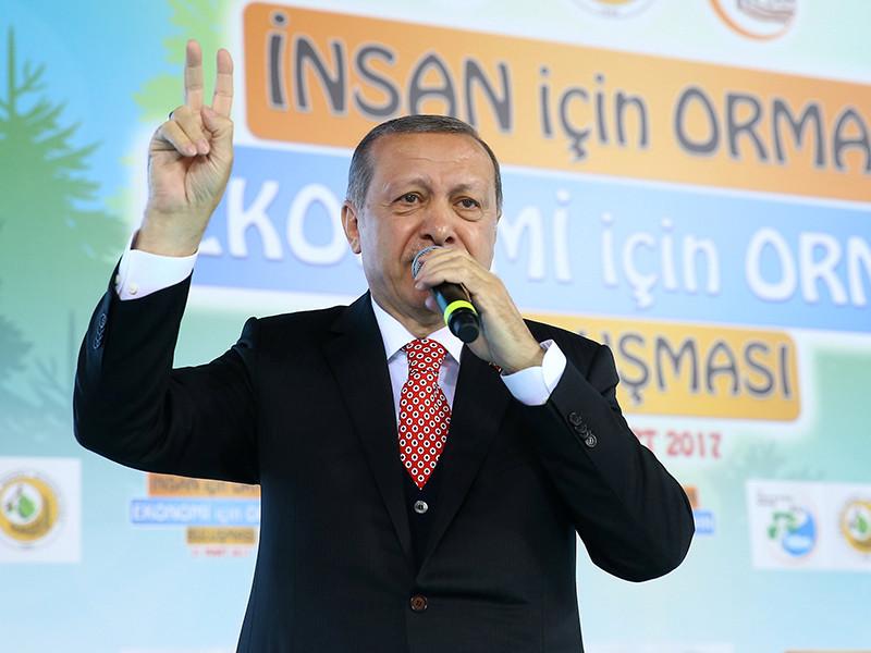 """Президент Турции Реджеп Тайип Эрдоган заявил, что европейцы не смогут чувствовать себя в безопасности ни в одной стране мира, если Европа продолжит применять в отношении Анкары методы, которые он ранее назвал """"нацистскими"""""""