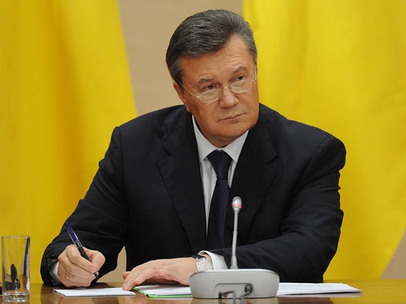 Главная военная прокуратура Украины, занимающаяся делом о госизмене бывшего президента страны Виктора Януковича, не собирается участвовать в допросах экс-главы государства на территории России