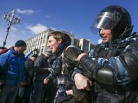 """Евросоюз призвал российские власти освободить задержанных участников митингов """"Он нам не Димон"""""""