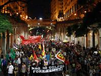 Десятки тысяч людей в Бразилии приняли участие в протестах против запланированной в стране реформы пенсионной системы, предложенной президентом Мишелом Темером