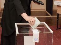 В Абхазии проходят парламентские выборы: избирателям ставят отметку на руке водостойким маркером