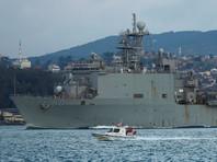 Американский десантный корабль Carter Hall вошел в Черное море