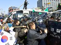 В Южной Корее прошли протесты в защиту президента - есть жертвы
