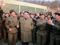 """Северная Корея """"уничтожила"""" американский авианосец и бомбардировщик при помощи фотомонтажа"""