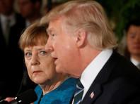 Меркель после встречи с Трампом заявила о необходимости улучшать отношения с Россией