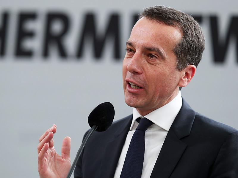 Канцлер Австрии Кристиан Керн пообещал в опубликованном в среду интервью немецкой газете Die Welt, что страна выступит за урезание финансирования стран - членов Евросоюза, которые будут отказываться от участия в приеме беженцев