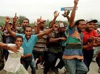 Целый район столицы Папуа - Новой Гвинеи оказался разгромлен и сожжен в ходе массовых беспорядков