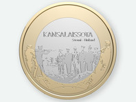 В Финляндии изымают из оборота юбилейную монету с изображением расстрела