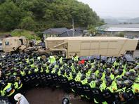 В Южной Корее оборудование для THAAD доставили на место развертывания