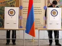 Правящая партия уверенно побеждает на выборах в Армении