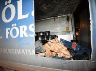 В грузовике стокгольмского террориста нашли взрывчатку, утверждает SVT