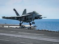 В воскресенье ударная группа ВМС США начала совместные учения к югу от Корейского полуострова