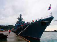 """В Южную Корею прибыл отряд  кораблей ВМФ РФ  во главе с """"Варягом"""", по которому дали прогуляться местным школьникам"""