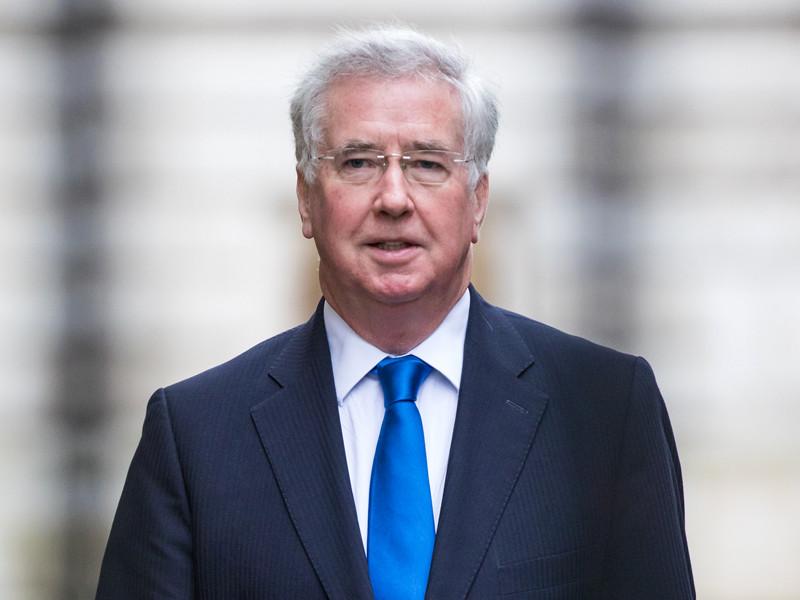 Министр обороны Соединенного Королевства Майкл Фэллон