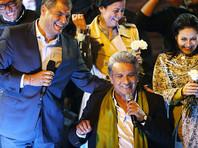 Президент Эквадора Рафаэль Корреа сразу после объявления первых предварительных официальных результатов выборов нового главы государства заявил о проигрыше правых сил