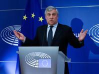 """""""Соответствующий запрос направлен в компетентную комиссию Европарламента"""", - заявил председатель Европарламента Антонио Таяни в начале официального заседания в Брюсселе"""