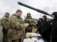 Президент Украины приехал в Донбасс на встречу с военными