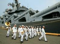 """Российский крейсер """"Варяг"""" прибыл в четверг, 20 апреля, в столицу Филиппин - город Манила"""