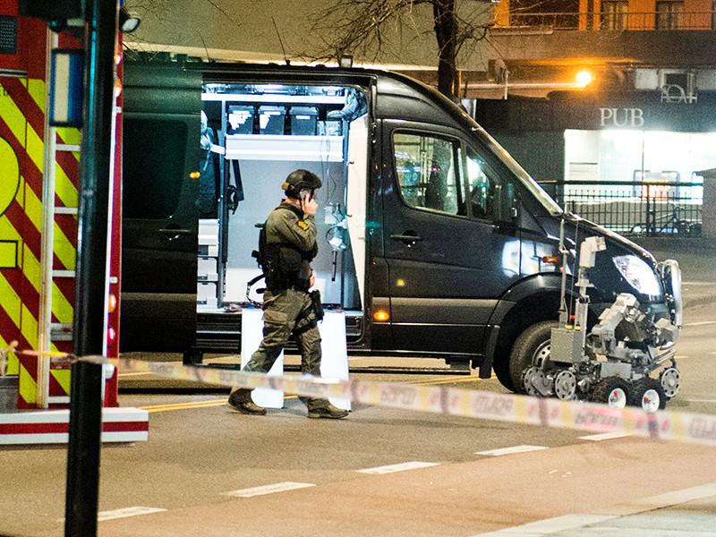 Бомбу в Осло оставил 17-летний гражданин России, объявила полиция