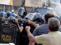 "В Парагвае протестующие подожгли здание конгресса из-за ""диктаторского"" указа, разрешающего переизбрание президента"
