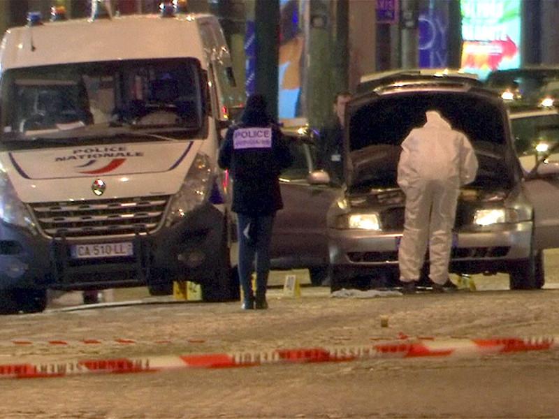 Подозреваемый в атаке на полицейских в Париже сам явился в полицию в Бельгии