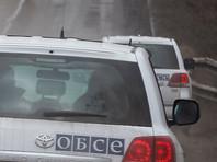 Автомобиль ОБСЕ подорвался на фугасе в Луганской области, погиб наблюдатель