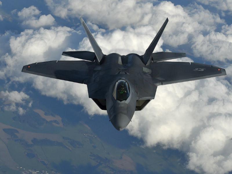 F-22 Raptor ВВС США
