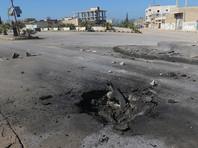 По сирийскому городу Хан-Шейхун, подвергшемуся химической атаке, нанесен новый удар с воздуха