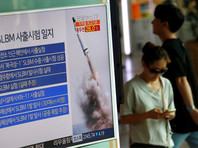 Южная Корея успешно испытала баллистическую ракету