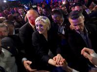 """Председатель """"Национального фронта"""" Марин Ле Пен получила 21,53% голосов, став вторым кандидатом, прошедшим во второй тур"""