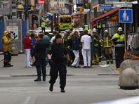 На месте теракта в Стокгольме задержан подозреваемый