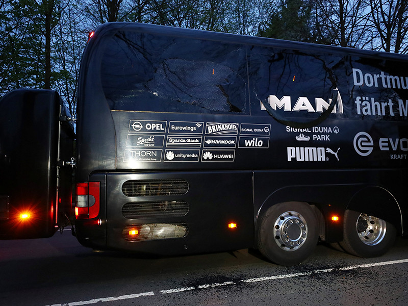 """В Германии задержан выходец из РФ по подозрению в организации взрывов у автобуса """"Боруссии"""""""