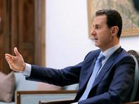 Асад прокомментировал ракетный удар США по аэродрому