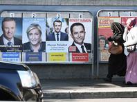 """В преддверии первого тура выборов президента Франции, который состоится уже в это воскресенье, 23 апреля, в рейтинге кандидатов лидируют основатель движения """"Вперед!"""" Эмманюэль Макрон, лидер партии """"Национальный фронт"""" Марин Ле Пен и представитель партии """"Республиканцы"""" Франсуа Фийон"""