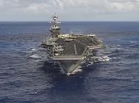 США готовы к превентивному удару по КНДР. Авианосец подошел на необходимое расстояние