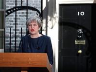 Премьер-министр Британии объявила о досрочных выборах в парламент