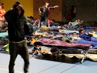 Во Франции в  лагере беженцев произошли беспорядки и пожар: есть пострадавшие