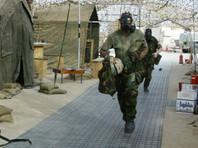 16 апреля бригадный генерал иракской армии Яхья Расул сообщил AP о применении боевиками отравляющего вещества. По его словам, пострадали шесть военных. Сообщалось о начале расследования инцидента, которое должно установить, какой именно газ использовался при атаке