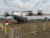 Созданный в Китае самый большой самолет-амфибия совершил первый полет