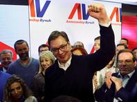 Премьер-министр Сербии Вучич уверенно победил на президентских выборах
