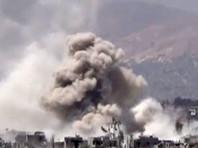 Коалиция во главе с США нанесла новый авиаудар по проправительственным силам на юге Сирии
