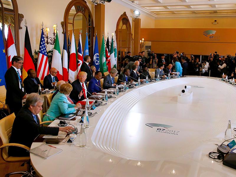 Страны G7 готовы усилить санкции против России и при этом нацелены на сотрудничество для решения региональных кризисов
