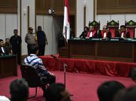 Приговор суда Джакарты оказался более суровым, чем просила сторона обвинения. Прокурор ранее потребовал для обвиняемого год тюремного заключения