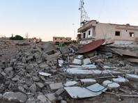 Здания, разрушенные в результате боевых действий в пригороде Дамаска Восточная Гута, 6 мая 2017 года