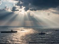 В Японском море столкнулись крейсер ВМС США и южнокорейское рыболовное судно