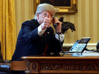 Белый дом анонсировал телефонную беседу Трампа и Путина во вторник