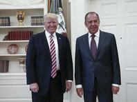 """После обвинений в разглашении """"секретной информации"""" Трамп назвал встречу с Лавровым """"очень успешной"""""""