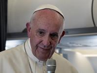 """Папа Римский выразил надежду, что сможет найти """"хотя бы приоткрытую дверь"""" для диалога с Трампом"""