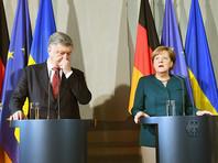 """Меркель перед диалогом с Порошенко анонсировала новую встречу """"нормандской четверки"""""""